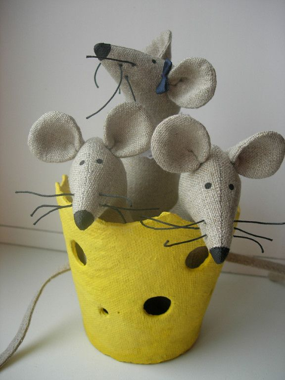 Год мыши игрушка, своими руками