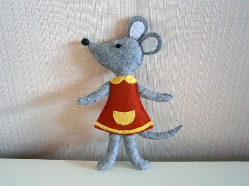 Новогодние мыши своими руками