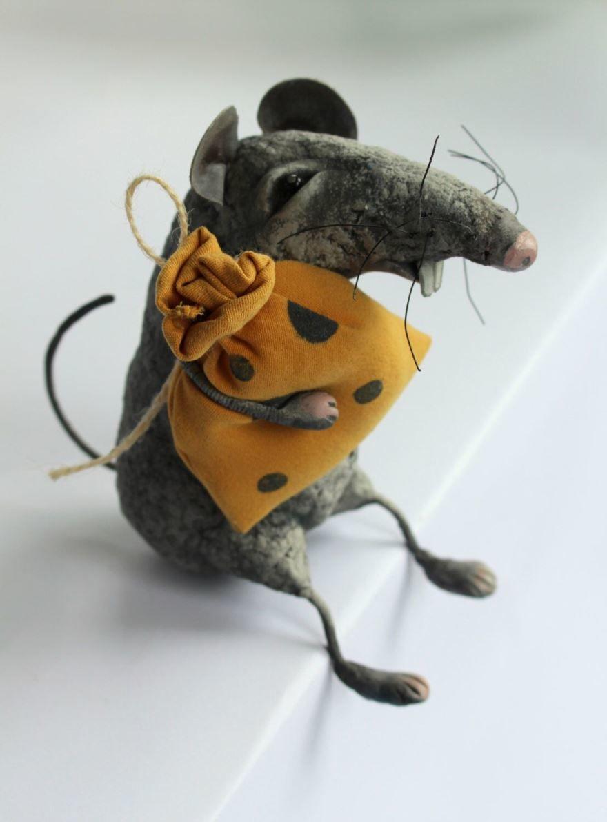 Крыса символ года игрушка