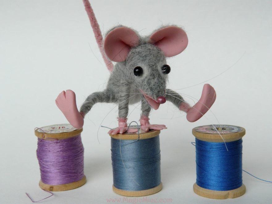 Символ Нового года 2032 крыса, своими руками