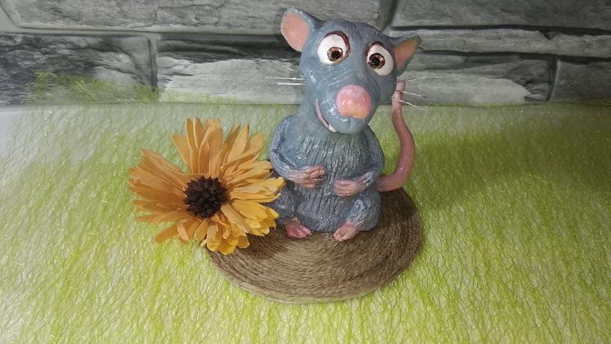 Поделка символ года крыса