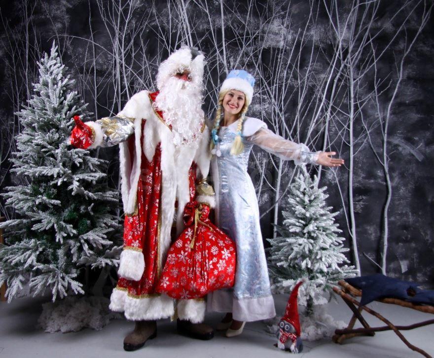 Фото Деда Мороза и Снегурочки