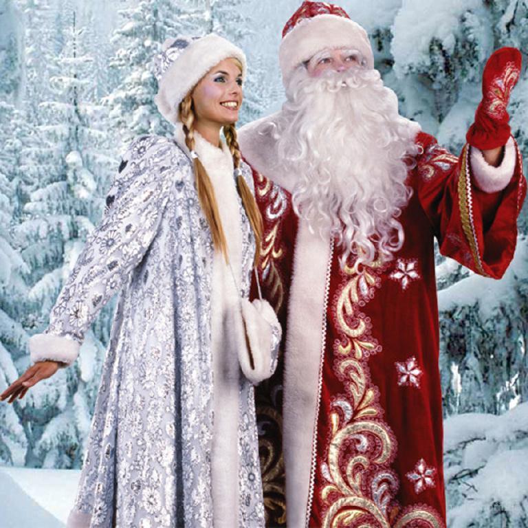 Фото Дед Мороз и Снегурочка, красивые