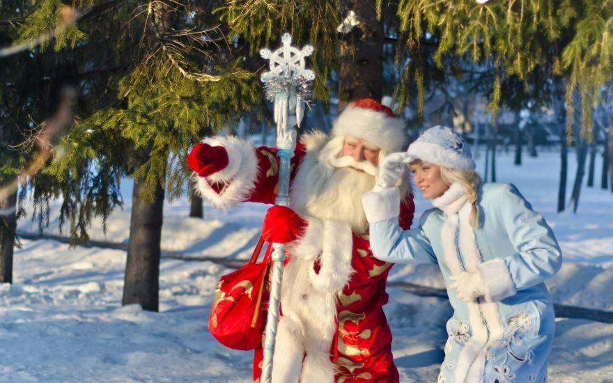 Фото Деда Мороза и Снегурочки для детей