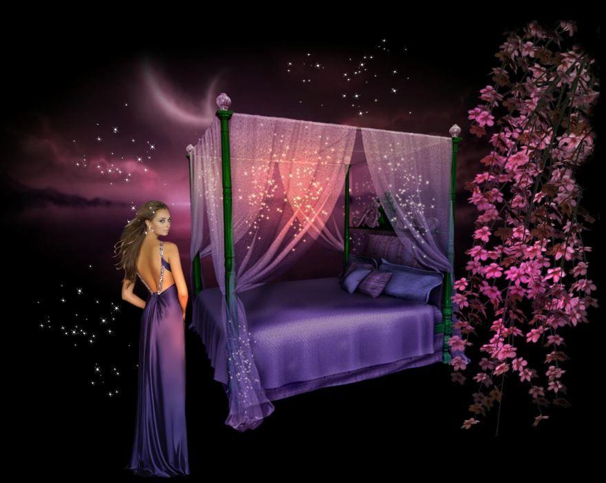 Доброй ночи красивые, необычные картинки