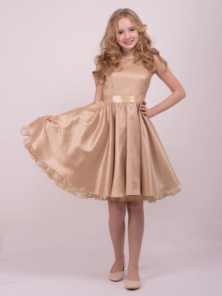 Короткие платья для девочек на выпускной