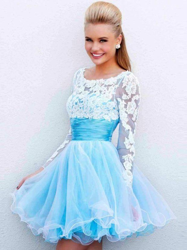 Модное, новые платья на выпускной 9 класс