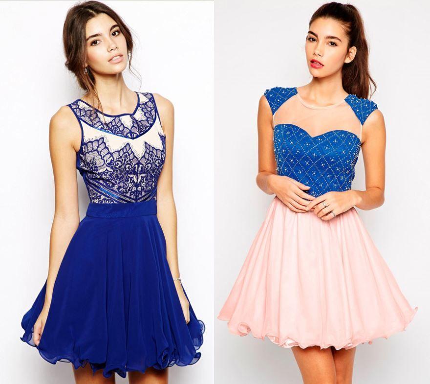 Красивые девушки в изумительных платьях для выпускного 9 класс