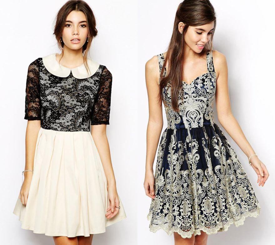 Короткие платья на выпускной 9 класс