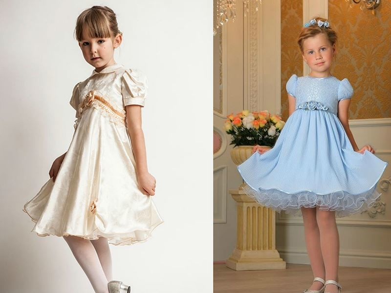Фото платьев для девочек на выпускной в детский сад