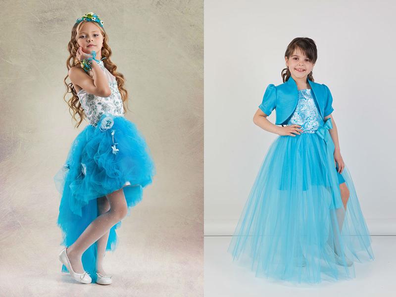 Современные, новые платья для девочек на выпускной