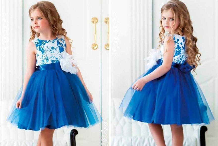 Красивое платье для маленькой леди на выпускной