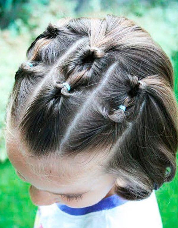 Прическа на выпускной для девочки на короткие волосы