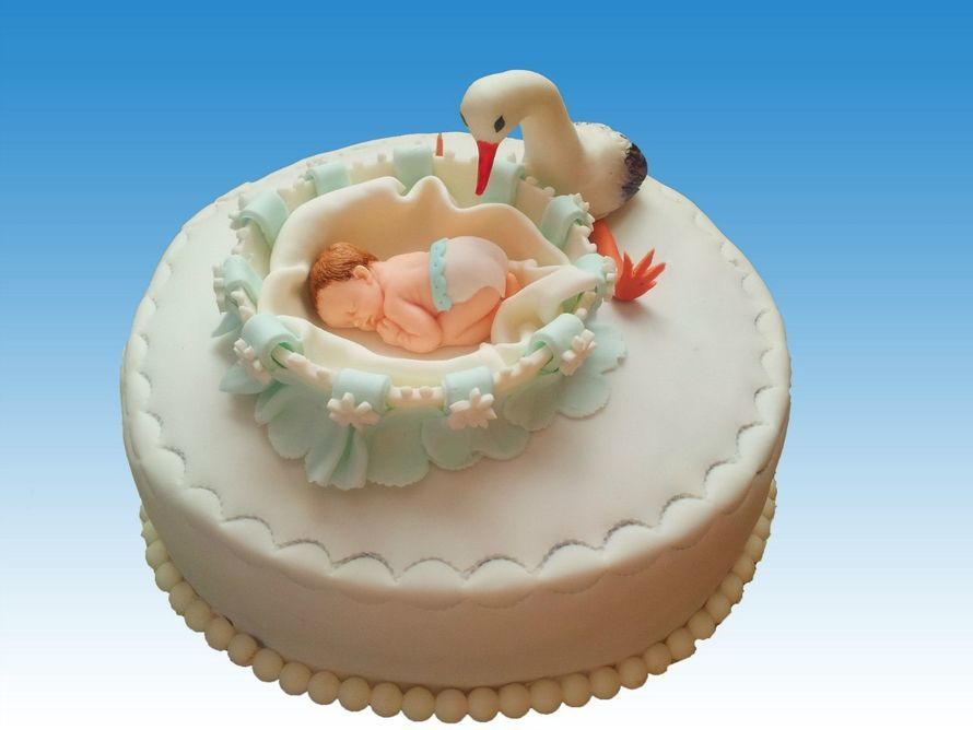 Торт своими руками на рождение ребенка