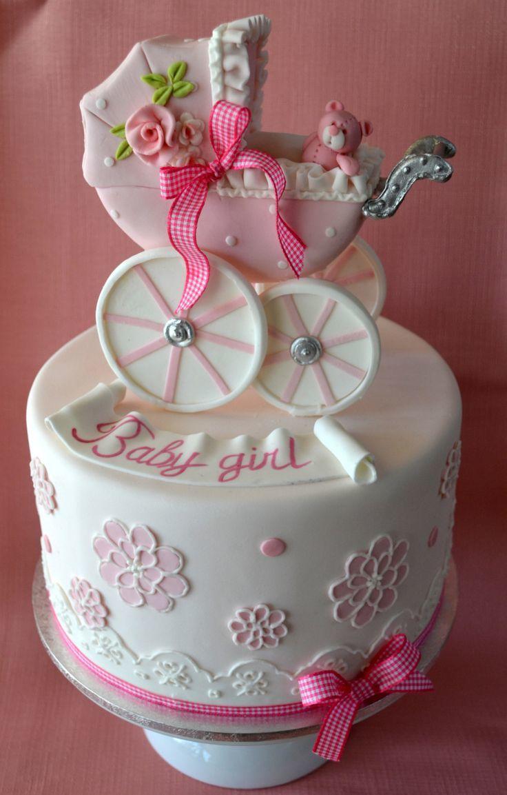 Торт на заказ на рождение ребенка девочки