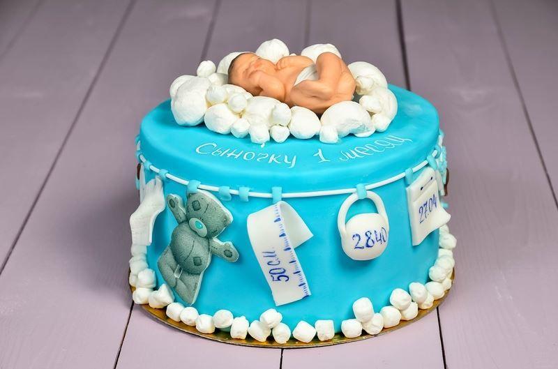 Торт на День рождения ребенка мальчика