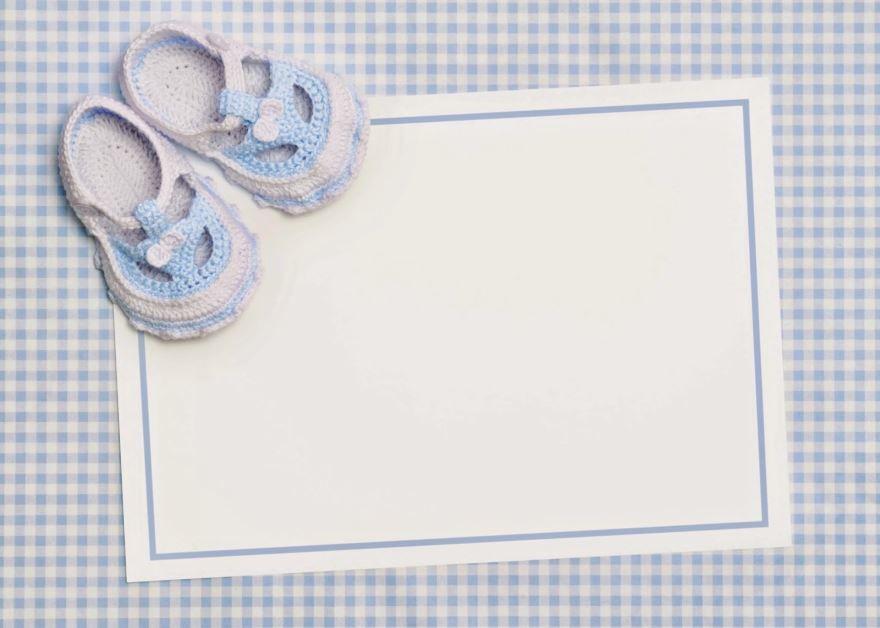 Скачать приглашение на рождение ребенка бесплатно