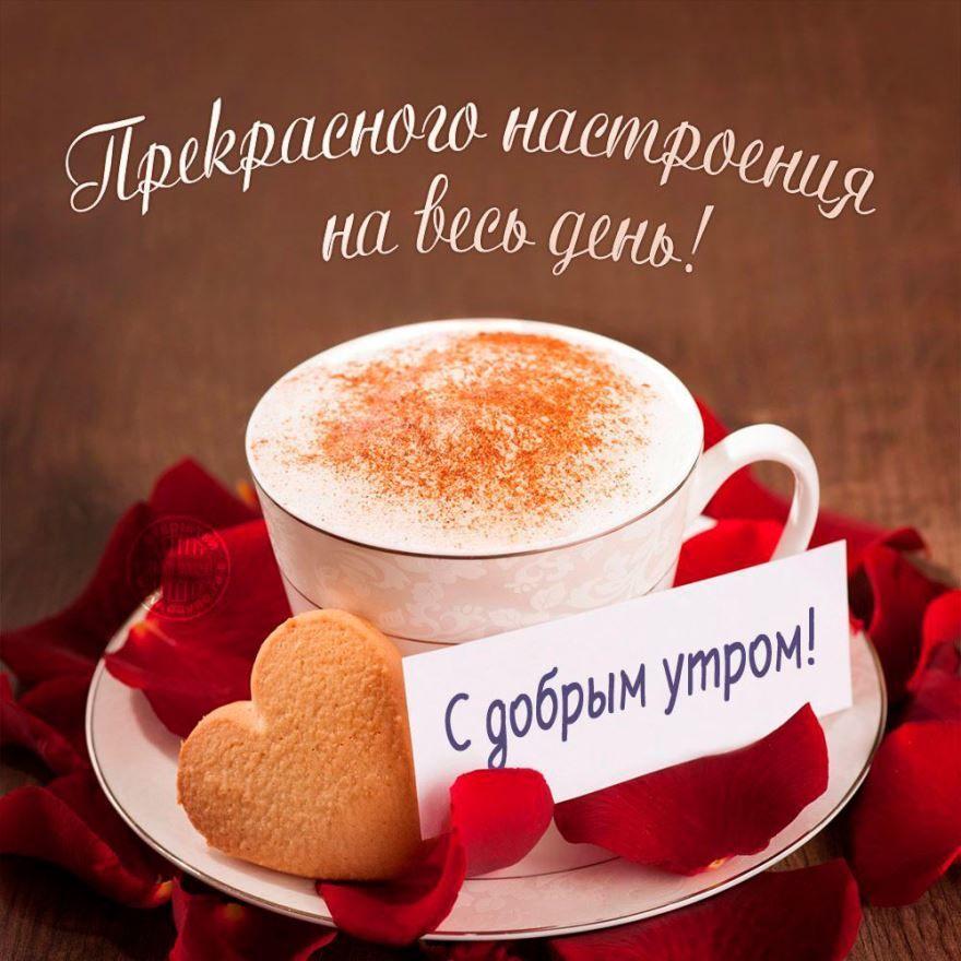 Доброе утро хорошего дня и прекрасного настроения