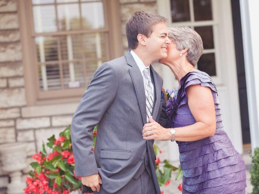 Мама жениха на Свадьбе