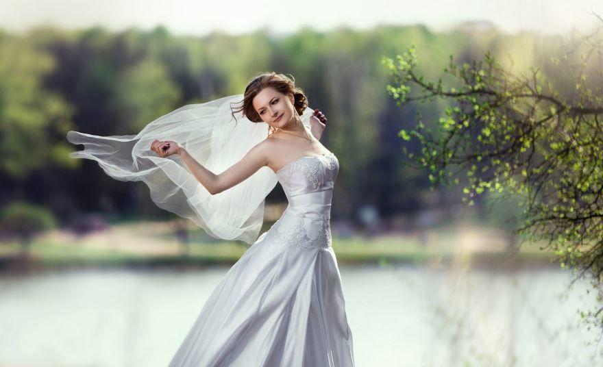 Платье невесты фото