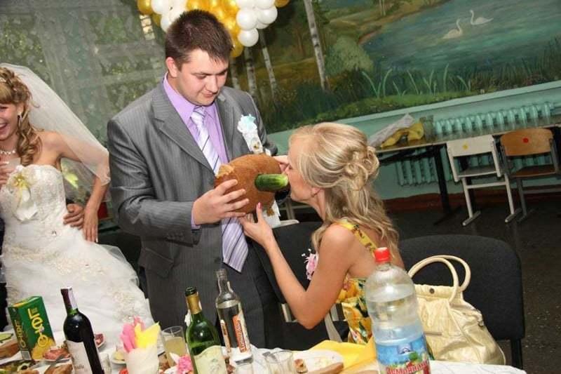 Конкурсы на Свадьбу для гостей прикольные