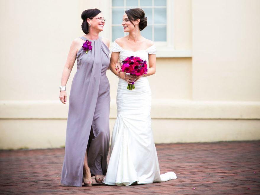 Платье мамы невесты на Свадьбе