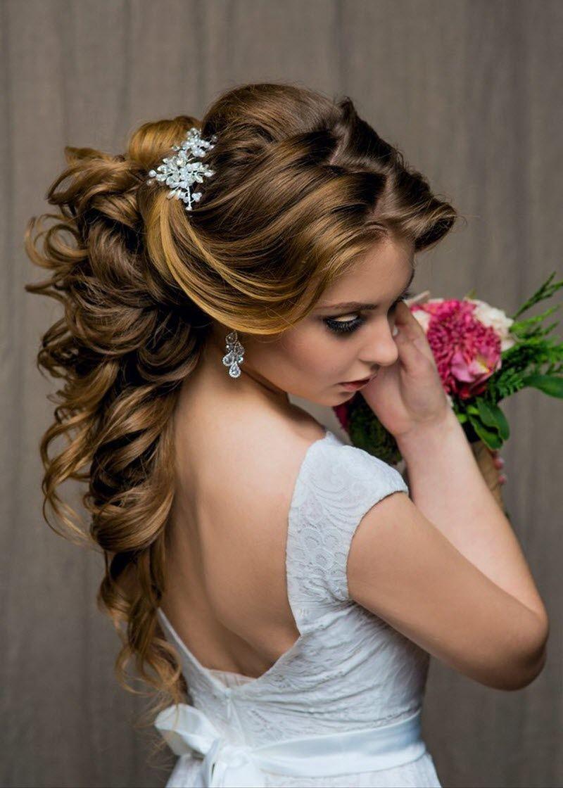 Прическа на Свадьбу на длинные волосы