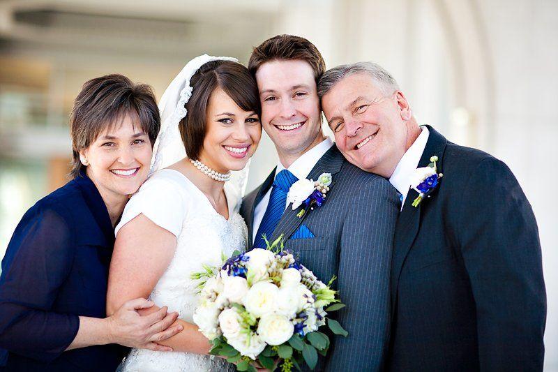 Свадьба, родители жениха