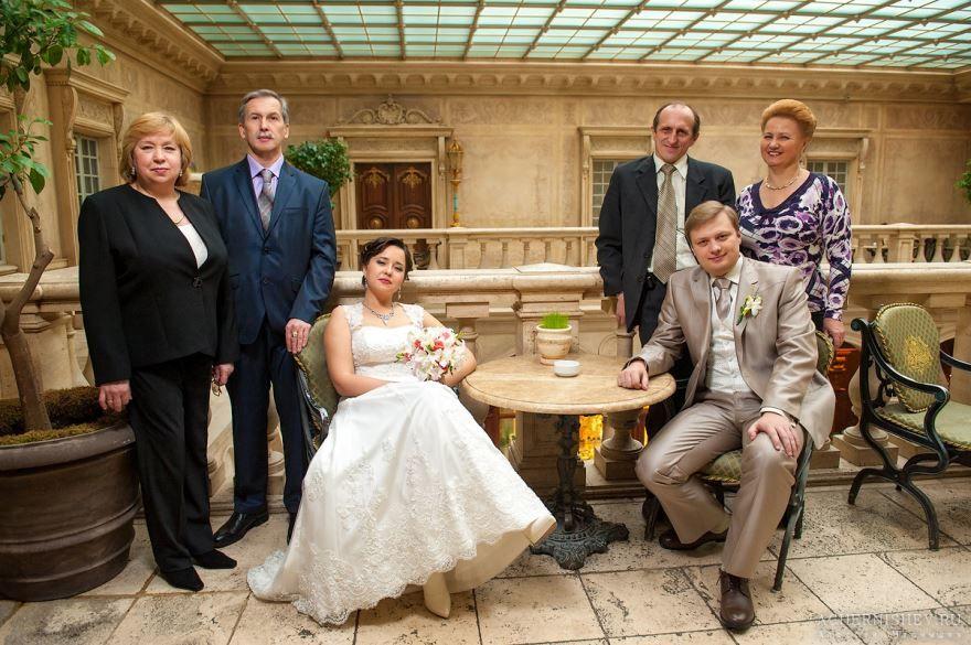 Свадьба, родители молодых
