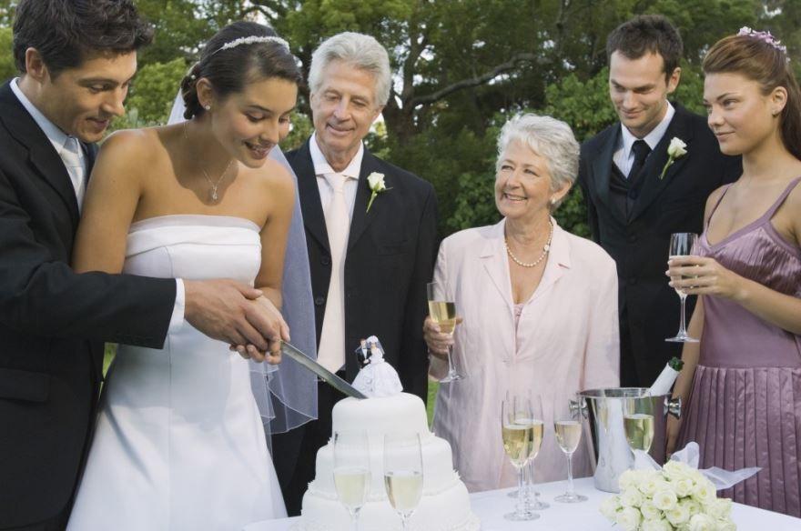 Родители на Свадьбе дочери