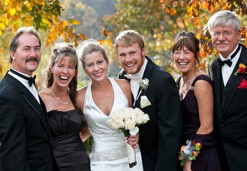Родители жениха и невесты на Свадьбе