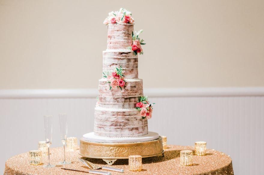 Ярусные торты на Свадьбу