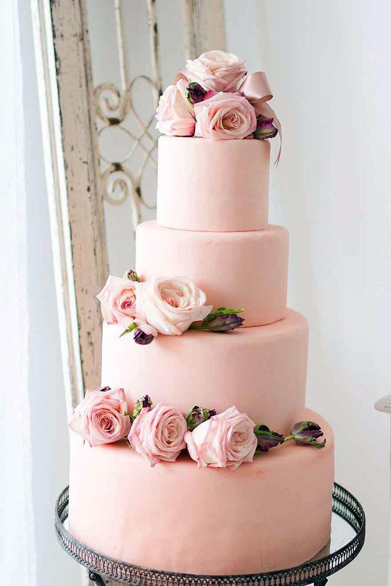 Красивый торт на Свадьбу, фото