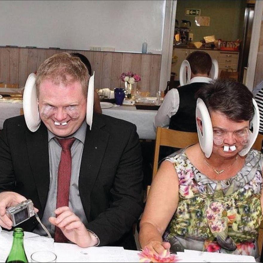 Прикольная Свадьба, смешная картинка
