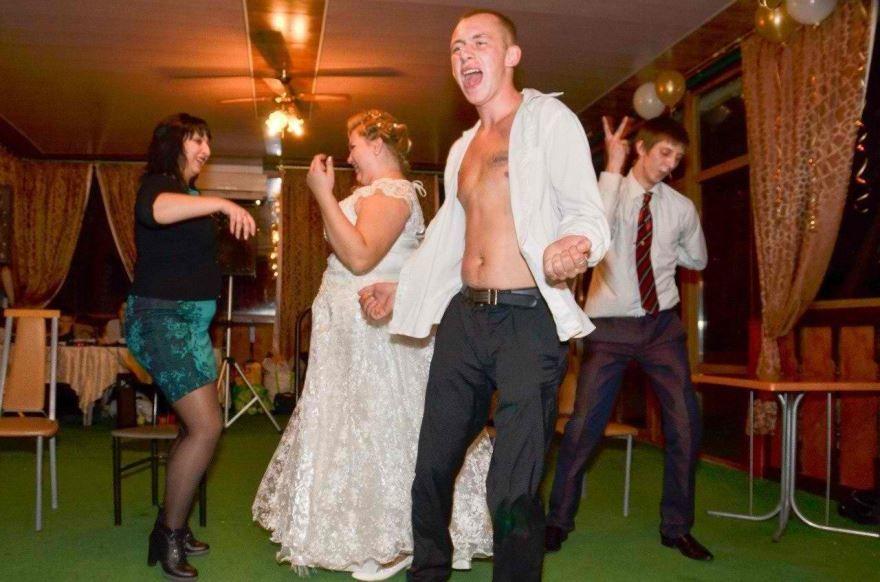 Прикольная Свадьба друга