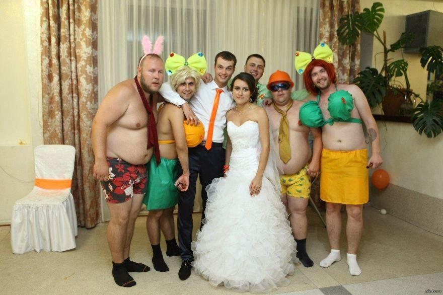 Прикольные гости на Свадьбе, фото