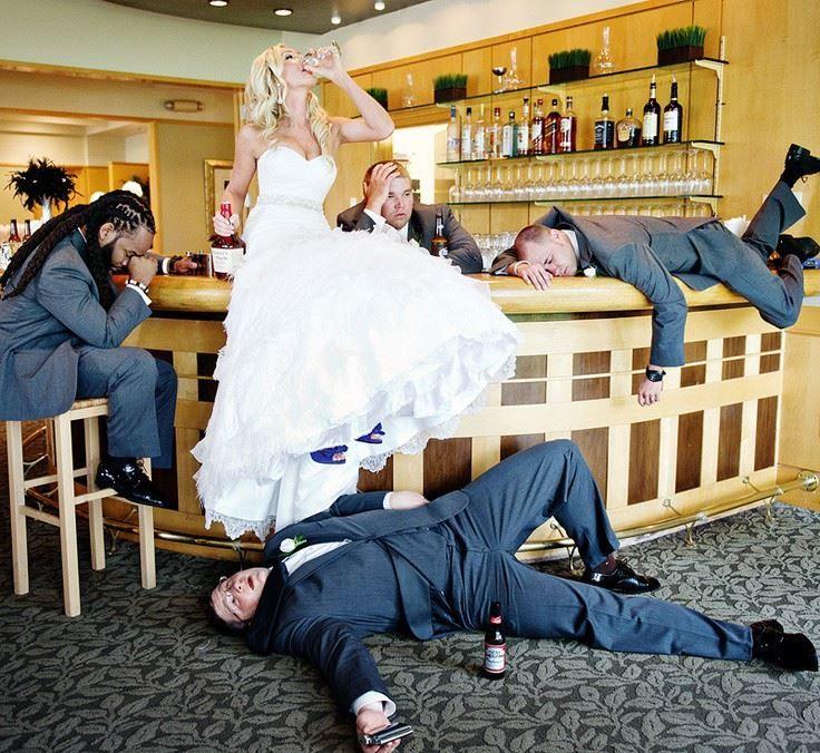 Прикольная фотография со Свадьбы
