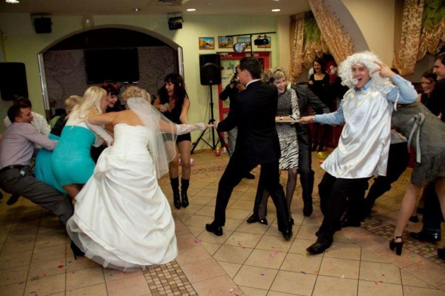 Танцы на Свадьбе прикольные