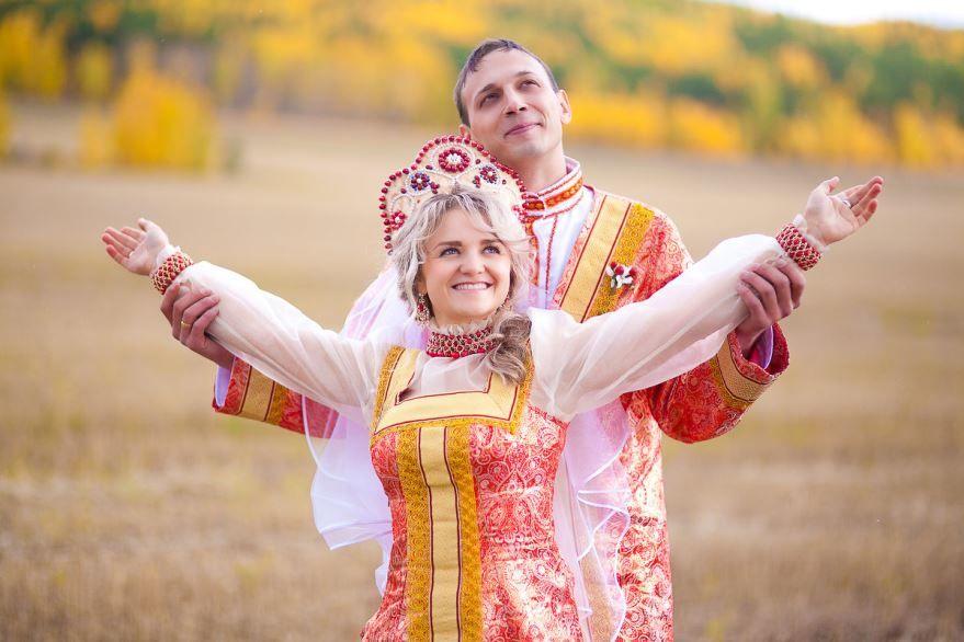 Русская Свадьба по старинным обычаям