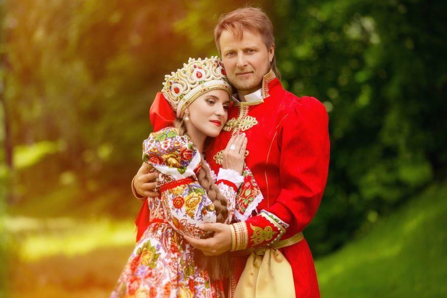 Русская Свадьба в русском- народном стиле