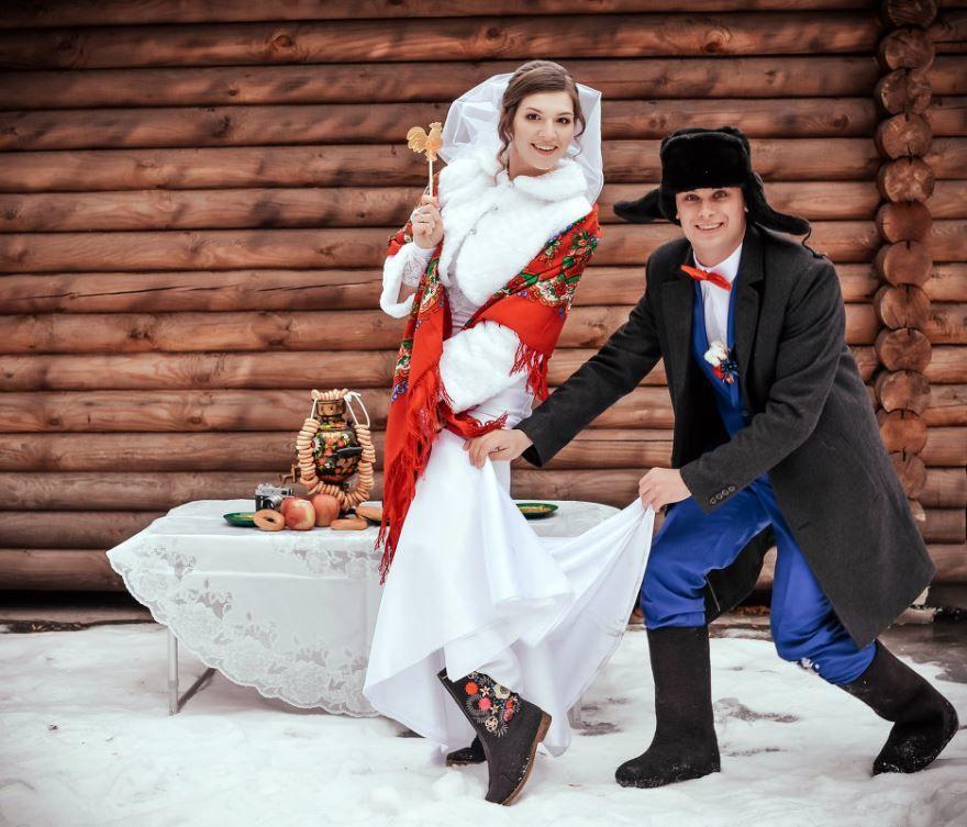 Русская Свадьба, прикольное фото