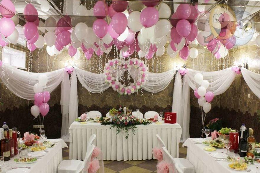 Оформление зала и столов на Свадьбу