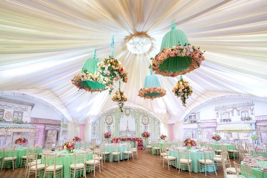 Свадьба, стили оформления