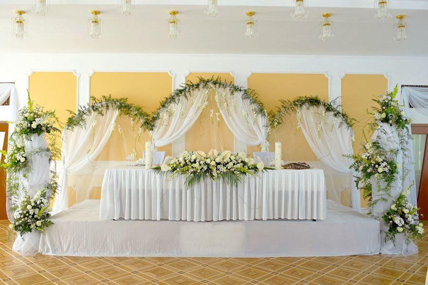 Белая Свадьба, оформление