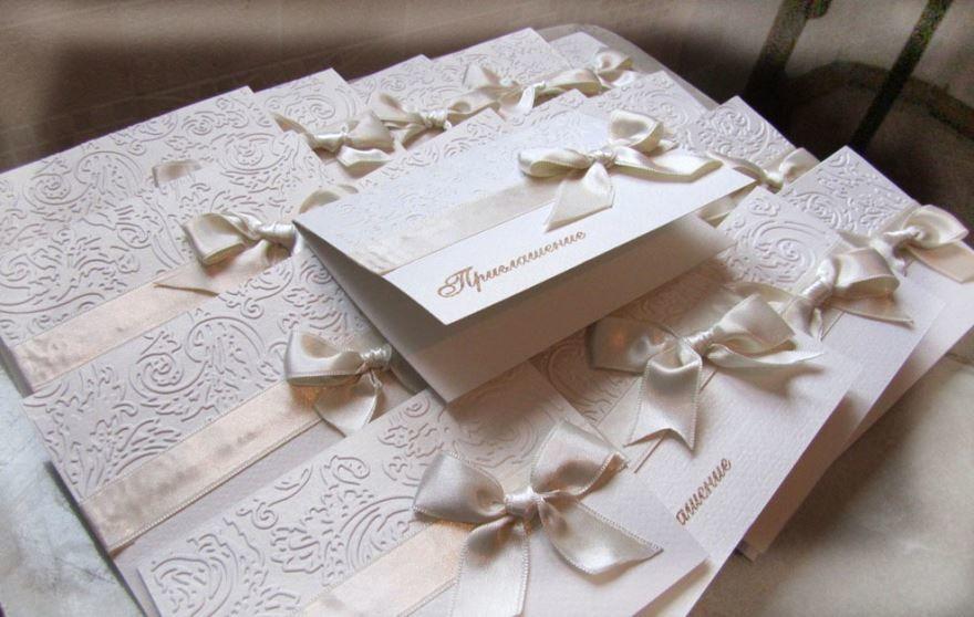 Идеи пригласительных на Свадьбу