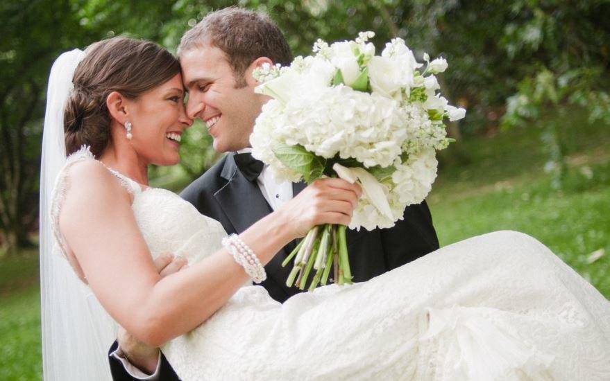 Свадьба, молодожены фото