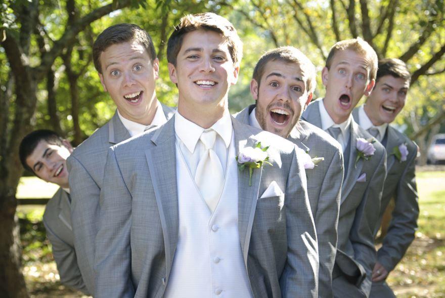 Сын с друзьями перед Свадьбой