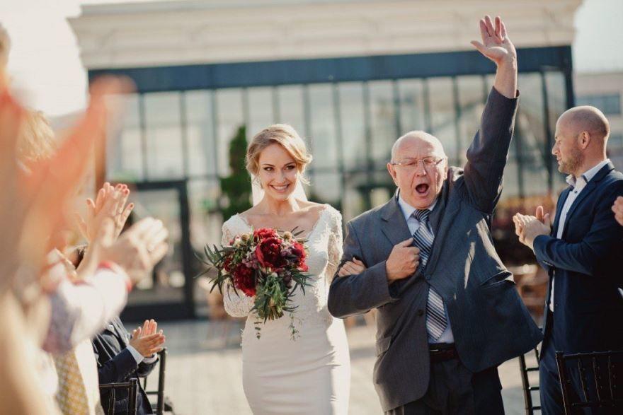Отец на Свадьбе дочери