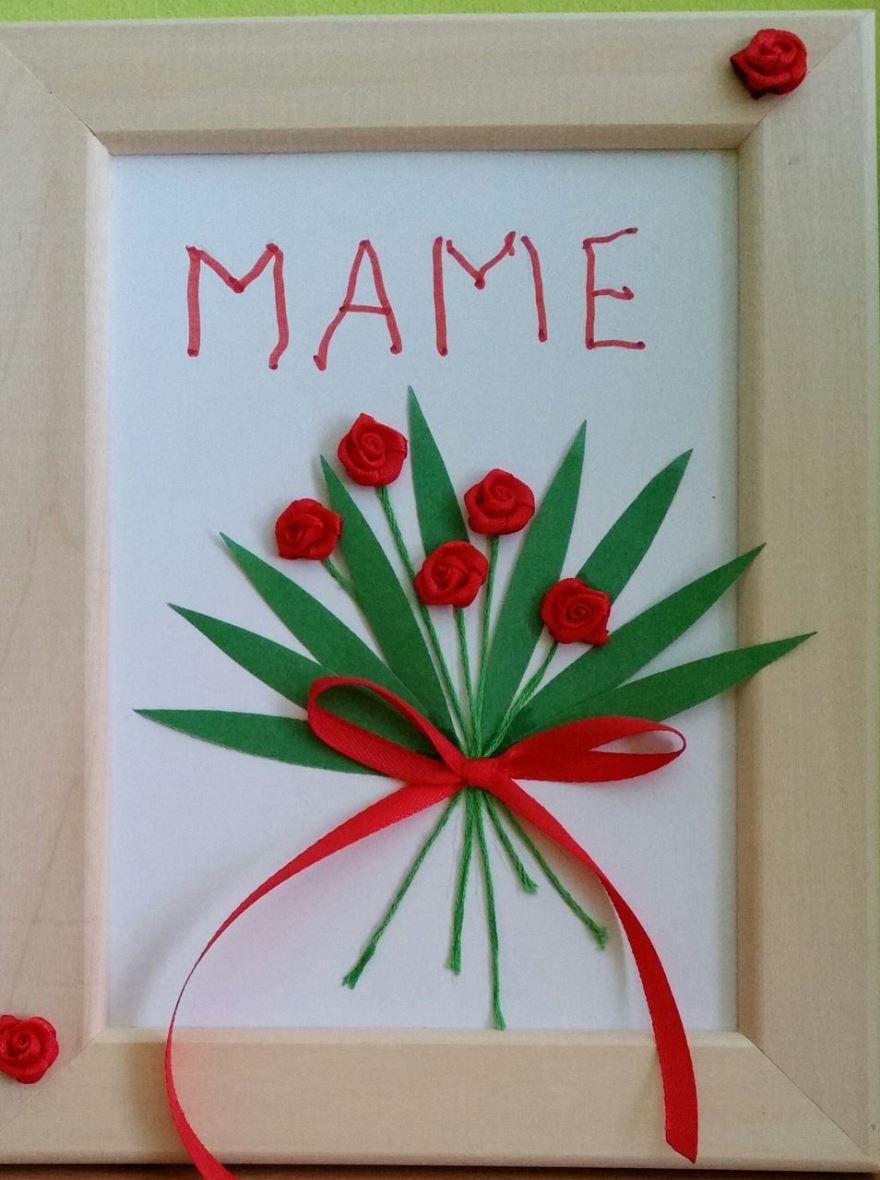 Как сделать подарок маме своими руками