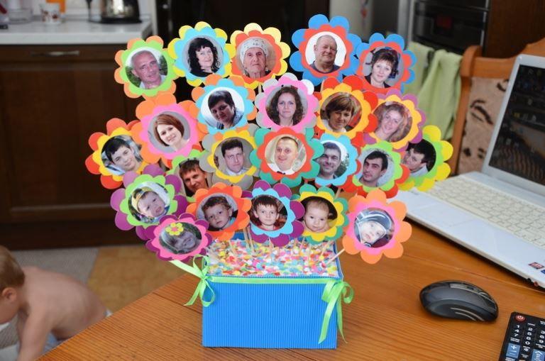 Подарок бабушке от внучки